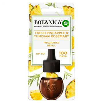 Air Wick rezervă lichidă pentru odorizant electric - Fresh pineapple & Tunisian rosemary, 19ml